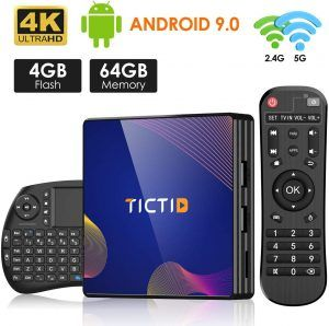 TICTID R8 Plus Smart TV Box